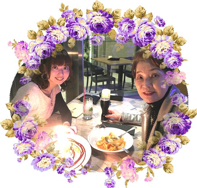 母への誕生日|自由が丘 天使バレエスクール