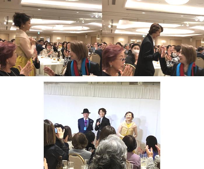 宝塚歌劇団 演出家・岡田敬二先生パーティー5|世田谷・自由が丘 天使バレエスクール
