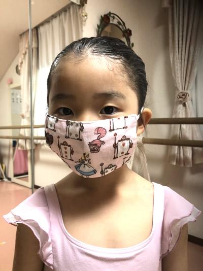 手作りマスク-2|世田谷・自由が丘 天使バレエスクール