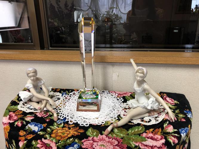笹本公江 先生 『沖縄洋舞協会』第3回 功労賞 ご受賞|世田谷・自由が丘 天使バレエスクール